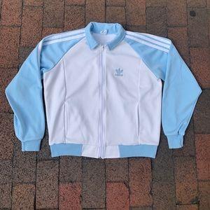 Vintage Women's 1990s Adidas Trefoil Track Jacket
